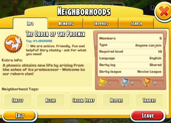 HAY DAY - Join my Neighborhood!